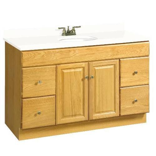 Only 48 X 21 Claremont Bathroom Vanity Cabinet